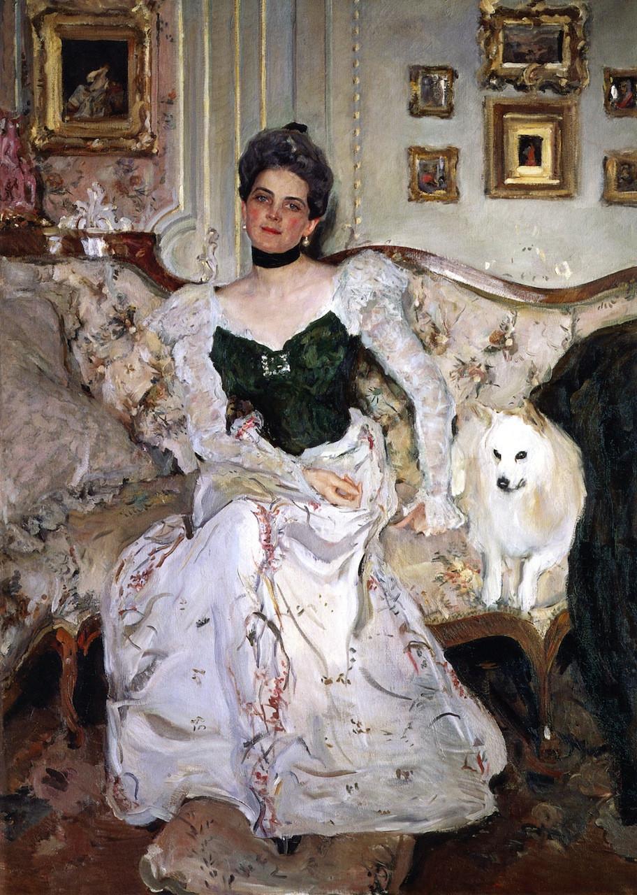 Portrait of princess Zinaida Yusupova, 1900/1902